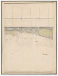 Ponts et Chaussées. Flandre Occidentale (1885). Plan de la côte partie comprise entre le village de Middelkerke et celui de Wenduyne. Feuille 18, in: Ponts et Chaussées. Flandre Occidentale (1874-1885). Carte de la côte de Belgique