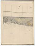 Ponts et Chaussées. Flandre Occidentale (1885). Plan de la côte partie comprise entre le village de Middelkerke et celui de Wenduyne. Feuille 19, in: Ponts et Chaussées. Flandre Occidentale (1874-1885). Carte de la côte de Belgique