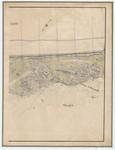 &lt;B&gt;Ponts et Chaussées. Flandre Occidentale&lt;/B&gt; (1885). Plan de la côte partie comprise entre le village de Middelkerke et celui de Wenduyne. Feuille 21, <b><i>in</i></b>: Ponts et Chaussées. Flandre Occidentale (1874-1885). <i>Carte de la côte de Belgique