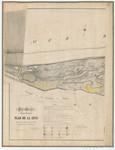 Ponts et Chaussées. Flandre Occidentale (1873). Plan de la côte depuis la limite est du village de Heyst jusqu'à la frontière Néerlandaise. Feuille 22, in: Ponts et Chaussées. Flandre Occidentale (1874-1885). Carte de la côte de Be