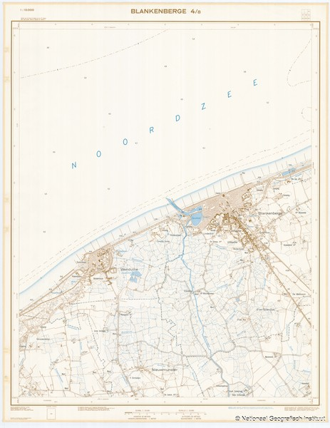 Blankenberge 4/8 - 1969