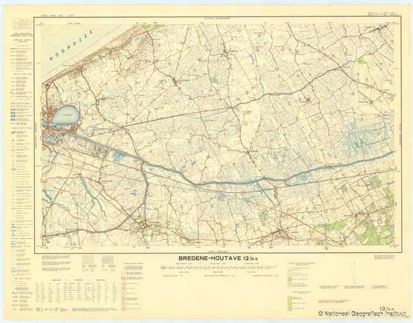 Bredene - Houtave 12/3-4 - 1956