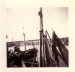 Onbekend schip in de haven