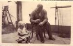 Arthur Vanhoutte met Theo (kind)