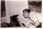 Daniel Valcke met hond