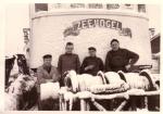 Bemanning op Zeevogel (Bouwjaar 1964)