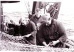 Netten boeten op de Z.412 Belgian Researcher (bouwjaar 1950), author: Onbekend
