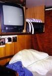 Slaapruimte op het schip