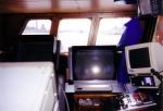 Stuurkabine vissersvaartuig