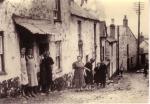Krotwoningen van Vlaamse vissers die in Newlyn-Penzance (Cornwall) verbleven