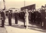 Koninklijk bezoek te Newlyn-Penzance op 6 mei 1942