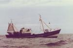 Z.527 Mercurius (Bouwjaar 1963) in volle zee
