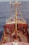 Z.405 Kamina (Bouwjaar 1955) bezocht door meeuwen