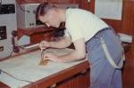 Jan De Voogt zet koers uit in kaartenkamer van de Z.406 Kamina (Bouwjaar 1955)