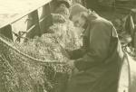 Jan De Voogt met vislijn op de Z.405 Kamina (Bouwjaar 1955)