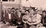 Groepsfoto tijdens doop Van Maerlant (of Jan Van Maerlant)