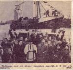 Doop Z.568 De Zeespiegel (Bouwjaar 1962) te Zeebrugge