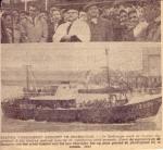 Doop Z.559 Gudrun (Bouwjaar 1961) te Zeebrugge