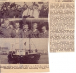 Doop Z.569 Blauwvoet (Bouwjaar 1965) te Zeebrugge