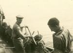 Vissers aan boord van de Z.508 Zegen (Bouwjaar 1957), author: Onbekend