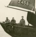 Aan boord van de Z.458 De Drie Gezusters (bouwjaar 1939), author: Onbekend