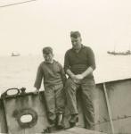 Jozef Devos met zoon Ivan