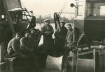 Visers aan boord