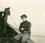 Charles Vlietinck aan boord