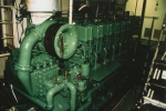 Detail machinekamer