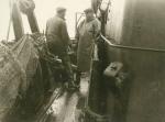 Aan boord van de Z.449 Zeemanshoop (bouwjaar 1945), author: Onbekend