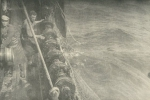 Winden van visnet aan boord van de Z.570 Triton (Bouwjaar 1960-1961)