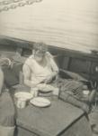 Alfred Devos aan boord van de Z.570 Triton (Bouwjaar 1960-1961), author: Onbekend
