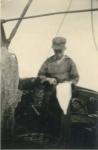 André Van Torre met vangst op de Z.520 De Drie Gebroeders (Bouwjaar 1926)