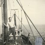 Andr� Van Torre op de Z.583 Sunny Boy (Bouwjaar 1947)