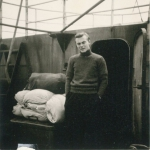 Andr� Van Torre tijdens zijn laatste reis aan boord van de Z.402 Atlantis (Bouwjaar 1963)
