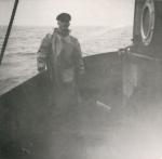 Andr� Van Torre aan boord van de Z.402 Atlantis (Bouwjaar 1963)