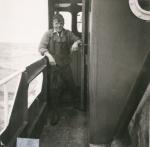 Aan boord van de Z.402 Atlantis (Bouwjaar 1963), author: Onbekend