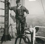 Visser aan boord