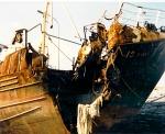 O.118 Dandy (Bouwjaar 1964) na aanvaring