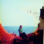 Vrouw aan boord