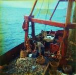 Visser aan dek met bijvangst
