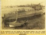 Wrak van de N.210 (Bouwjaar 1929) nabij vismijn, author: Onbekend