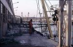 lossen van de vis eind jaren '80