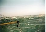 Slecht weer op zee