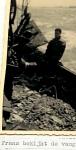 Frans bekijkt vangst van de N.725 (Bouwjaar 1934)