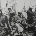 Bemanning en kind aan boord