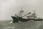 B.462 Vidar (bouwjaar 2000) tijdens storm, author: Onbekend