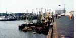 Zeebrugse vaartuigen aan kade