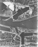 Luchtfoto Oostende, kort na WO I