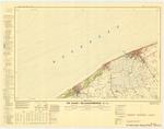 &lt;B&gt;Militair Geografisch Instituut&lt;/B&gt; (1955). De Haan - Blankenberge 4/7-8. Opmeting door aerofotogrammetrie in 1949-50. Luchtopname in 1948. Gedeeltelijke niet-metrische aanvulling in 1954. Uitgave 1 - IGMB M 834. <i>Carte topographique analogique de la